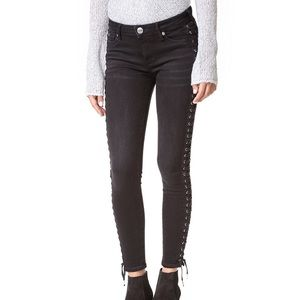 True Religion Halle Mid Rise Skinny Jean